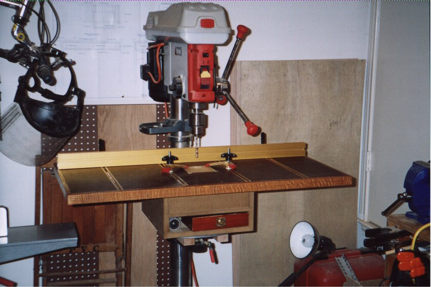 ... Drill Press Table Download DIY woodworking magazines online free
